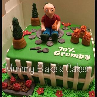 Gardening themed cake - Cake by Mummyblakescakes