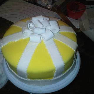 This was the cake I made for my 33rd Birthday