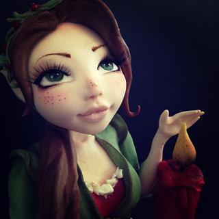 My sweet Christmas elf.