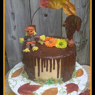 Thanksgiving 🍁🍁 Cake