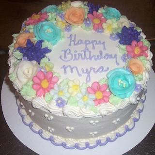 Flower Cake for Myra