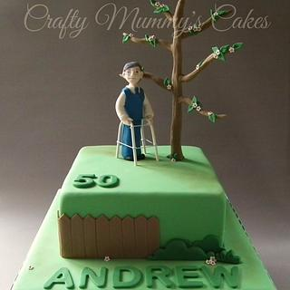 Just a walk in the park - Cake by CraftyMummysCakes (Tracy-Anne)