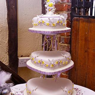 wedding dream - Cake by LAURA MANSFIELD