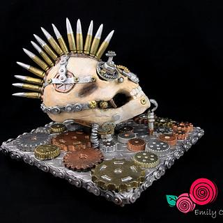 Punk Skull - Steam Cakes 2018 Edition - A Steampunk Collaboration