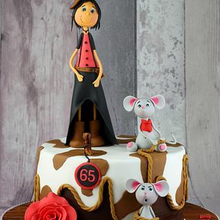 Line dancing - Cake by leonietje