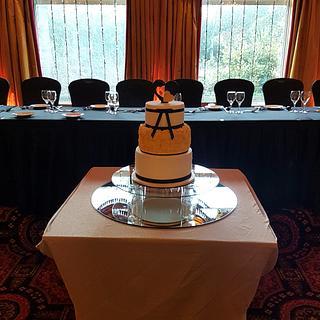 New Years Wedding Cake  - Cake by Cakes Glorious Cakes