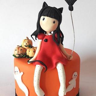 gorjuss halloween - Cake by Carmela Iadicicco (torte con brio)
