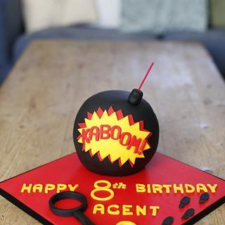 Bomb cake - Cake by Kasserina Cakes