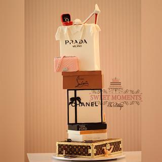 Fashionista Couture Cake