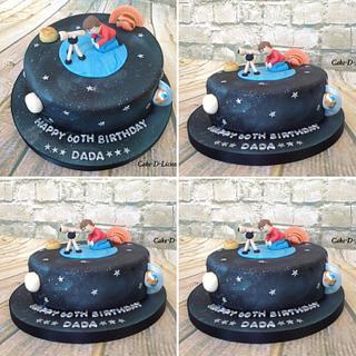Star gazer cake - Cake by Sweet Lakes Cakes