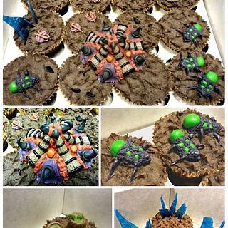 Starcraft II Cupcakes
