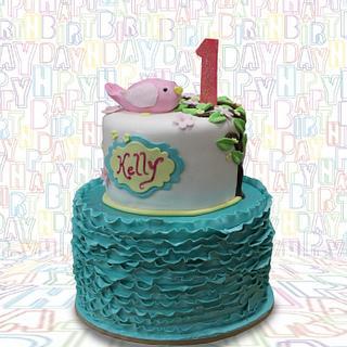 Ribbon Cake 1