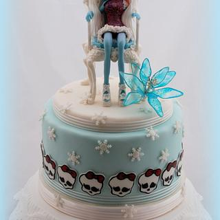 Monster High Abbey - Cake by Marie