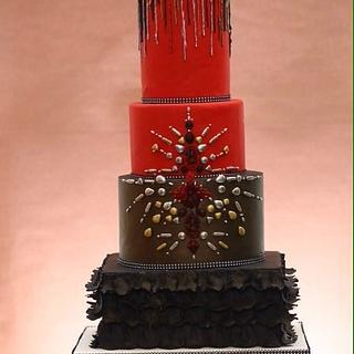 Bling it on! - Cake by Chocolitious Chocolates ( pooja)