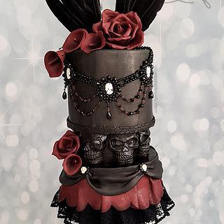 My gothic birthday cake