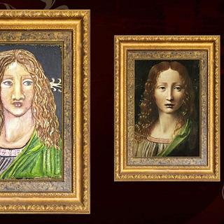 Leonardo Da Vinci Challe- Head of the Saviour