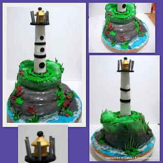 Light House Cake