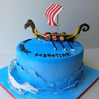 Viking cake