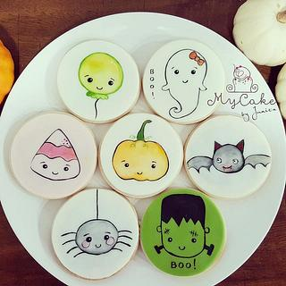 Halloween cookies - Cake by Hopechan