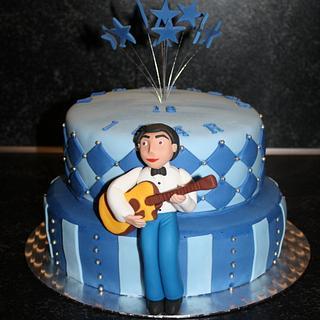 18th birthday cake - Cake by Natalia