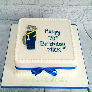 Traditional style - Golf Cake - Cake by Kitchen Island Cakes