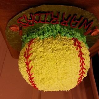 softball - Cake by rose2123