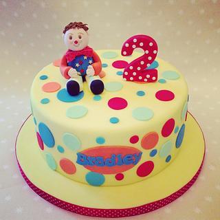 Mr Tumble - Cake by LREAN