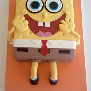 Bob Sponge Cake