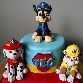 Paw Patrol cake - Cake by The Curious Patissier