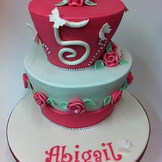 Pink Girly Cake