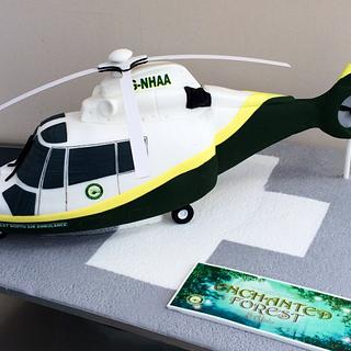 Great North Air Ambulance Cake