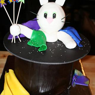 Rabbit in a Hat - Cake by CakeEnvy