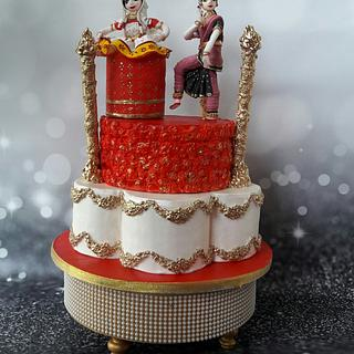 Classical dance for Incredible India cake collaboration