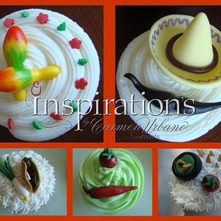 Viva Mexico cupcakes