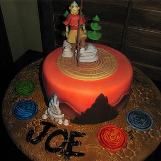 The Last Airbender Cake
