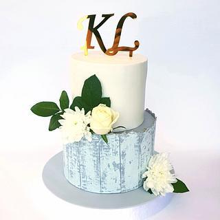 Anniversary/engagement cake