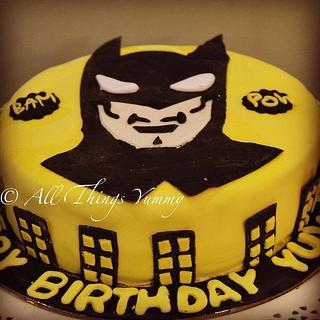 Batman Cake!! - Cake by All Things Yummy
