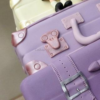 purple cases - Cake by suzanneflynn