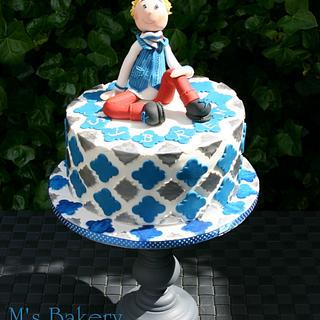 First Communion Cake for a boy