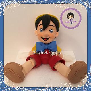 Pinocchio cake topper