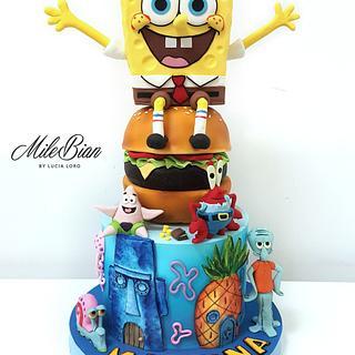SpongeBob cake