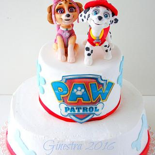 Paw Patrol cake - Cake by Ginestra