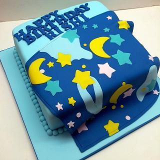 Blanket Birthday Cake