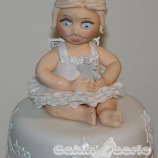 For the Little Ones 2016 Snow Fairy Christmas Cake