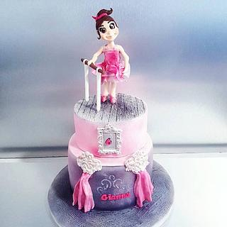 Gianna cake💎 - Cake by Ornella Marchal