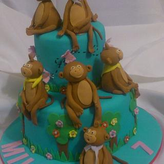 Monkey Business - Cake by Riëtte Cawthorn