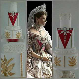 Queen Alexandra - Cake by Dawn Booth Sugarcraft Artist