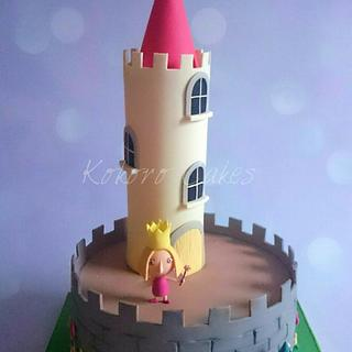 Ben and Holly's Little Kingdom  - Cake by Kokoro Cakes by Kyoko Grussu