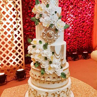 Big fat Indian Wedding cake