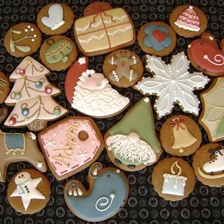 Christmas Whimsy Cookie Set